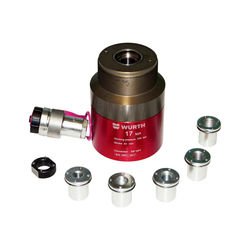 Hullsylinder i aluminium 17 T for ekstern pumpe, L=43 mm
