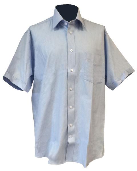 Skjorte Van Heusen Lys blå kort erme